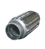 Flexrohr Flexstück flexibles Auspuff Flex pipe Ø 90x200 inner braid Edelstahl