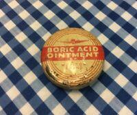 Empty Vintage Ointment Tin