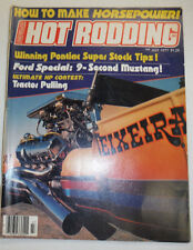 Popular Hot Rodding Magazine Ford Special & Tractors July 1977 NO ML 122314R