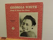 GEORGIA WHITE sings & PLAYS foremothers VOL3 ROSETTA US press g/fold-freeUKpost!