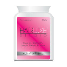 HAIR LUXE HAIR STUDIO HAIR VITAMIN PILLS - IMPROVES HAIR HEALTH LENGTH STRENGTH
