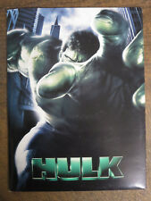 Hulk (2003) Press Kit Incl. CD-ROM Eric Bana Nick Nolte Ang Lee Does MARVEL!