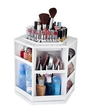 Tabletop Spinning Cosmetic Organizer Holds 100 items - New