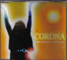Corona-The Power Of Love cd maxi single 7 tracks Italo Dance