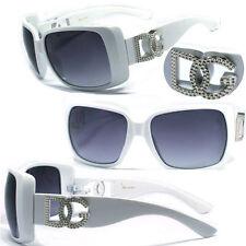 New Womens DG Eyewear Sunglasses 100% UV400 - White Frame DG 132