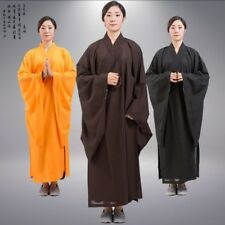 Shaolin Kung fu Kesa Monk Dress Zen Meditation Buddhist Priest Cassock Robe Hot