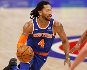 Derrick Rose New York Knicks Basketball - Unsigned 8x10 Photo