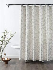 Croscill Mila Linen Shower Curtain 72in Width x72in Length.🖤