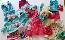 """Doll Clothes Lot 18"""" American Girl Journey Our Generation Puppy Shoes 21 Pieces"""
