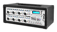 New Pyle PMX802M 8 Channel 800 Watts Powered Mixer w/MP3 Input DJ Pro