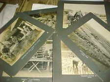 "1910 JAPAN Photos  -  7"" x 9""  -  RICE and TEA CULTIVATION - GREAT IMAGES"