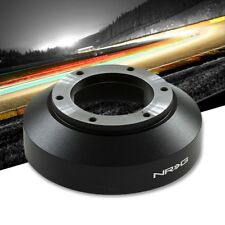 NRG SRK-141H Short Steering Wheel Hub Adapter Black For 08-13 Infiniti G37