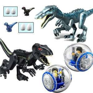 Jurassic World Indominus Rex w/Gyrosphere XXL Dinosaurs Figures Blocks Kids Toys