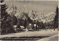 VALGRANDE - IL PANORAMA ALPINO DEL VILLAGGIO - COMELICO SUPERIORE (BELLUNO) 1953