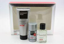 Marbert Man Classic Sport Homme Set (eau de Toilette 50 ml Gel doccia (2uv)