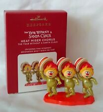 Hallmark 2020 The Year without a Santa Claus Heat Miser Chorus Ornament