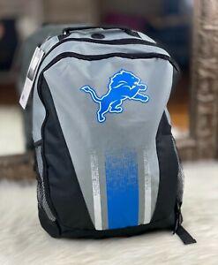 Detroit Lions NFL School, Work, Home Travel Backpack Shoulder Bag Laptop Bag NEW