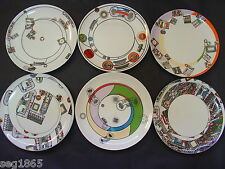 Eduardo Paolozzi el conjunto de seis platos Wedgwood kalkulium