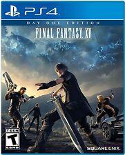 New listing Final Fantasy Xv: Day One Edition (Sony PlayStation 4, 2016)