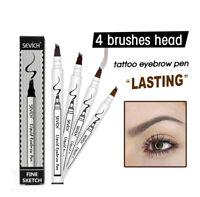 Waterproof Eye Brow Eyeliner Eyebrow Pencil With Brush Eye Makeup Cosmetic Tool
