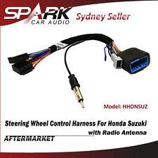 steering wheel control swc harness iso radio antenna for suzuki grand vitara