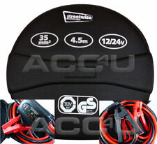 12v 24v 480A Heavy Duty 7000cc Car Van 4x4 Battery Jump Leads Booster Cables C18
