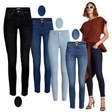 Women's Celeb Inspired EX-Zara Jean Smart Stretch Skinny Spandex Denim Pant 8-18