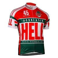Paris Roubaix Sunday in Hell Retro Cycling Jersey