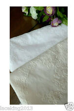 """1y Embroidery Flower Eyelet Cotton Lace Fabric - 90cm(36"""" )x 152cm(60"""") yh1518"""