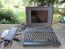 Vintage Laptop- Texas Instruments Travelmate 4000E Color- 486 WinSX/25 MHZ