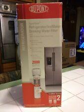 DuPont Wfqtr13000 QuickTwist Refrigerator/icemaker Water Filter Cartridge