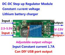 Lithium Lipo 18650 Battery Charger 3V 3.7V 4.2 to 5V 9V 12V Step up Boost Module