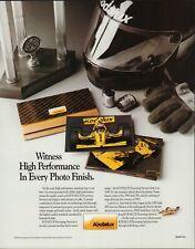 Vintage 1993 KODALUX PROCESSING SERVICES Print Ad w/ JIMMY VASSER Indy Car, D1