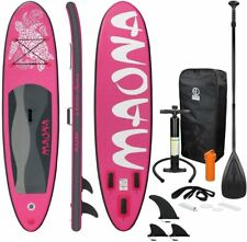Paddle Stand Up Gonflable Board Kit Accessoires Adulte Surf Planche A Voile Neuf