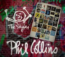 PHIL COLLINS - THE SINGLES - NEW DELUXE CD COMPILATION