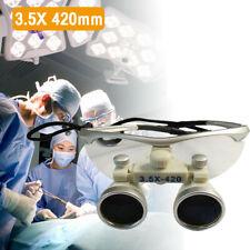 Dental Surgical Medical Binocular Loupes Optical Glass Loupes 35420 Mm New