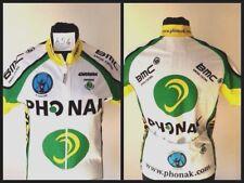 Maglia ciclismo phonak carrera jacket giacca jacke chaqueta swiss giacca