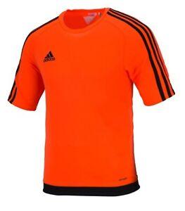 Adidas Men Estro 15 Shirts S/S Soccer Jersey Football Casual Top Shirt BP7194