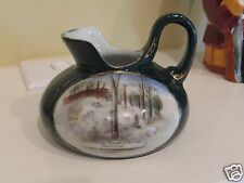 ANTIQUE souvenir china DORCHESTER STREET IN WINTER MONTREAL QC Canada Quebec