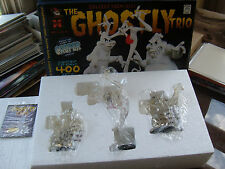 "ELECTRIC TIKI DESIGN ""THE GHOSTLY TRIO"" MINI MAQUETTE (CLEAR EDITION)! MIB!"