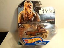 HOT WHEELS STAR WARS CHARACTER CARS, CHEWBACCA  NEW PACKAGE, 1:64 SCALE 5- 50-14