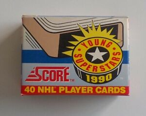 1990-91 Score Young Superstars Hockey Set