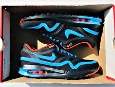 Nike Air Max Lunar1 Chicago Marathon 716478-048 Black Blue Red Men's Size 8