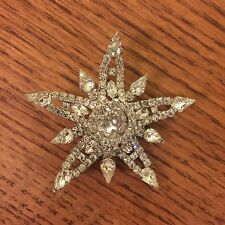 vintage kramer jewelry Rhinestone Brooch New York Beautiful and Ready To Wear