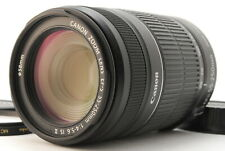 Near Mint! Canon EF-S 55-250mm f/4-5.6 IS Ⅱ Zoom Lens w/caps from Japan #40