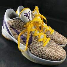 NIKE-ZOOM-KOBE-6-VI-3D-2011-Lakers-Home-DEL-SOL-429659-105-SZ-12-Grinch-Prelude