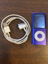 Apple iPod nano 4th Generation Purple (8 GB) Bundle