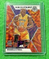 SHAQUILLE O'NEAL MOSAIC PRIZM CARD JERSEY#34 LAKERS 2019-20 MOSAIC BASKETBALL