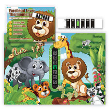 Jungle Room Room Thermometer & Lion Forehead Fever thermometer twin pack