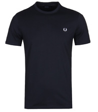 Fred Perry Black T-Shirt - Ringer - Tee - M3519 - 102